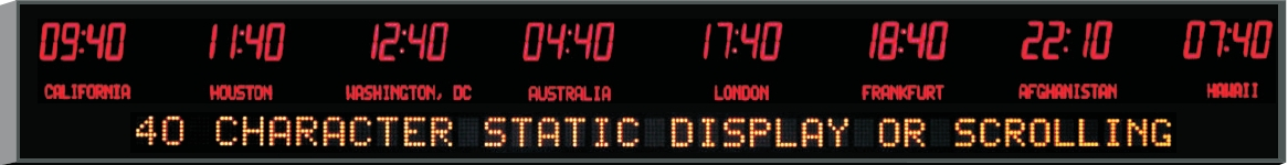 Custom Digital Wall Clock Page 5 Of 6 Led Time Zone