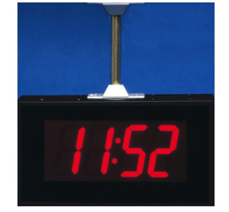 Double Sided Slave Digital Clocks Digital Display Systems
