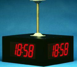 Quad Sided Digital Clocks Led Clock Dds