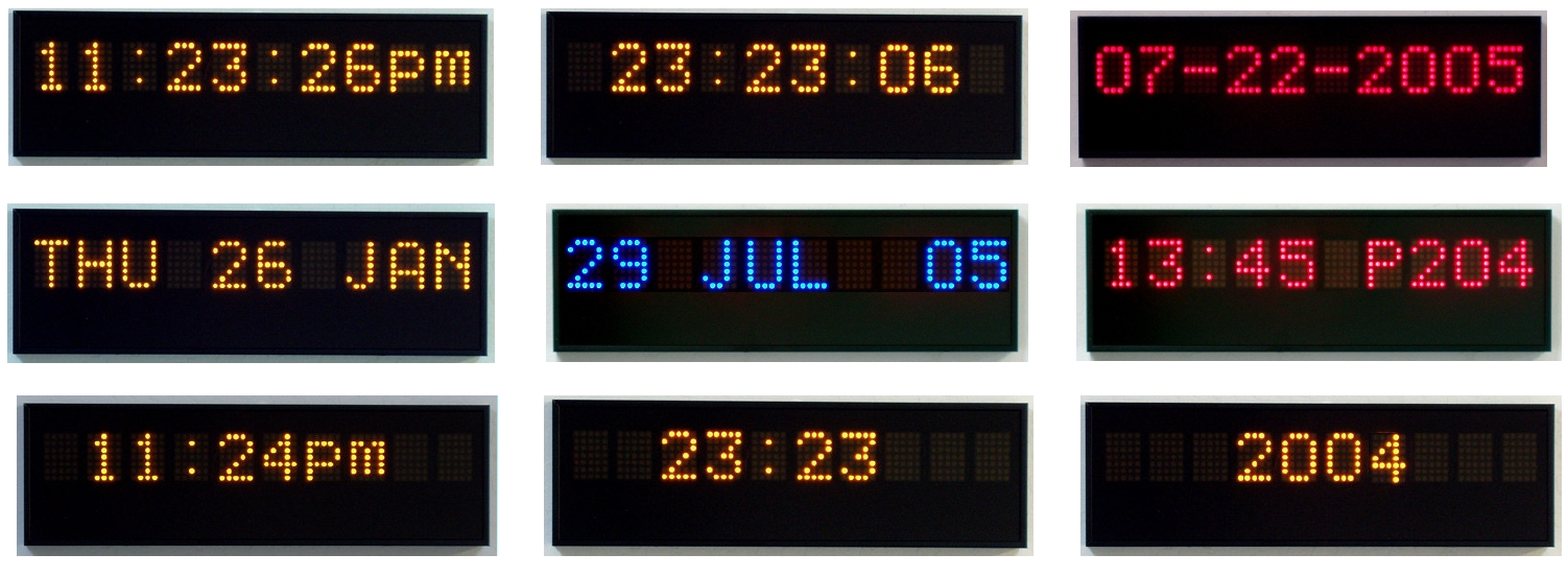 Multi Function Led Displays Digital Display Systems