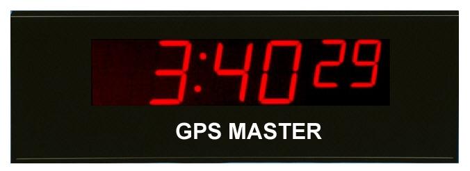 gps master clock