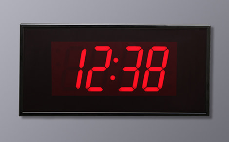 BSA-42440 4 Digit Stand Alone Clock