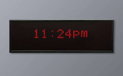 Multi LED Display - 12 Hour Time
