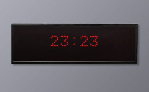 Multi LED Display - 4-digit 24 Hour time