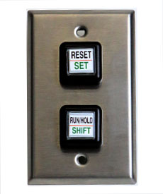Stainless Steel Wall Plate for LED Timer